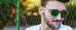 Gafas de madera - Gafas de SOL - Mosca Negra